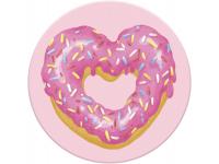 Suport Stand Adeziv Popsockets pentru telefon Strawberry Heart Donut Blister Original