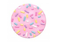 Suport Stand Adeziv Popsockets pentru telefon Pink Sprinkles Blister Original