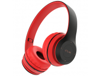 Handsfree Casti Bluetooth Borofone BO4 Charming Rhyme, SinglePoint, On-Ear, Rosu