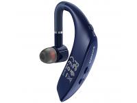 Handsfree Casca Bluetooth Borofone BC25 Wonderful Business, Albastru, Blister