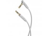 Cablu Audio 3.5 mm la 3.5 mm Borofone BL4, 2 m, Gri, Blister