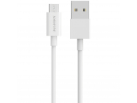 Cablu Date si Incarcare USB la MicroUSB Borofone BX3 Skilled, 3A, 1 m, Alb, Blister