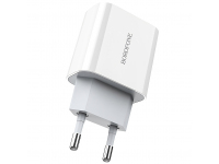 Incarcator Retea USB Borofone BA38A Speedy PD3.0, 1 X USB Tip-C, Alb, Blister