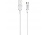 Cablu Date si Incarcare USB la USB Type-C Borofone BX33 Billow, 5A, 1.2 m, Alb, Blister