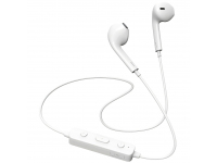 Handsfree Casti Bluetooth Borofone BE22 FreeRun Sports, Alb, Blister