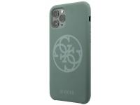 Husa TPU Guess pentru Apple iPhone 11 Pro, 4G Silicone Tone, Kaki, Blister GUHCN58LS4GKA