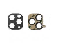 Folie Protectie Camera spate Ringke pentru Apple iPhone 11 Pro, Sticla securizata, STYLING, Neagra, Blister ACCS0003