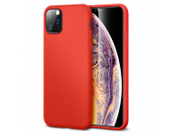 Husa TPU ESR Yippee Pure Silicone pentru Apple iPhone 11 Pro, Rosie, Blister