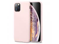 Husa TPU ESR Yippee Pure Silicone pentru Apple iPhone 11 Pro, Roz Deschis, Blister
