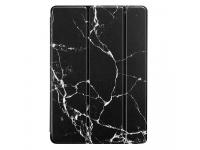 Husa Tableta Plastic - Poliuretan ESR Marble pentru Apple iPad Pro 11, Neagra, Blister
