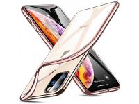 Husa TPU ESR Essential Crown pentru Apple iPhone 11 Pro, Roz Transparenta, Blister