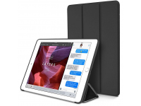 Husa Tableta TPU Tech-Protect SmartCase pentru Apple iPad mini (2019), Neagra, Bulk