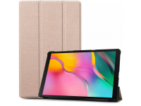 Husa Tableta TPU Tech-Protect SmartCase pentru Samsung Glaxy Tab A 10.1 (2019), Roz Aurie, Bulk