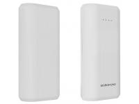Baterie Externa Powerbank Borofone Fullpower BT2, 5200 mA, 1 x USB, Alba, Blister