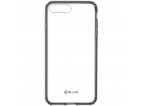 Husa TPU Tellur Hybrid pentru Apple iPhone 8 Plus, Gri, Blister TLL121962