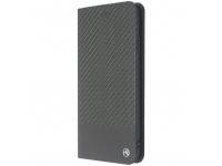 Husa Piele Tellur Book Carbon pentru Apple iPhone XS, Neagra, Blister TLL118303