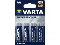 Baterie Varta Professional, AA / LR6, Set 4 bucati, Blister