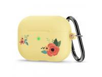 Husa Spigen CIEL Floral pentru Apple AirPods Pro, Galbena, Blister ASD00608