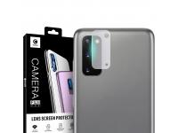 Folie Protectie Camera spate Mocolo pentru Samsung Galaxy S20, Sticla securizata, 9H, 2.5D, Blister