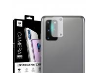 Folie Protectie Camera spate Mocolo pentru Samsung Galaxy S20 Plus G985, Sticla securizata, 9H, 2.5D, Blister