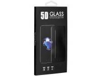 Folie Protectie Ecran OEM pentru Samsung Galaxy A71 A715 / Samsung Galaxy Note 10 Lite N770, Sticla securizata, Full Face, Full Glue, 5D, 0.3mm, Neagra, Blister