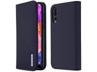 Husa Piele DUX DUCIS Wish pentru Huawei P20 Pro, Bleumarin, Blister