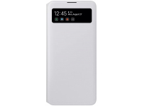 Husa Samsung Galaxy A71 5G A716, S View Wallet, Alba, Blister EF-EA716PWEGEU