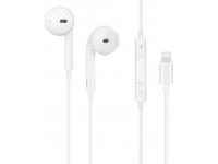 Handsfree Casti Bluetooth HOCO cu alimentare Lightning L7 plus, SinglePoint, Alb, Blister