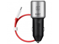 Incarcator Auto USB OnePlus Warp Charge 30, Quick Charge, 1 X USB, Negru, Blister 5461100009