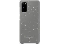 Husa Samsung Galaxy S20 G980 / Samsung Galaxy S20 5G G981, LED Cover, Gri EF-KG980CJEGEU
