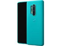 Husa Plastic OnePlus 8 Pro, Sandstone Bumper, Bleu, Blister 5431100145