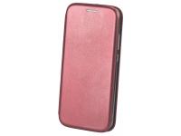 Husa Piele OEM Elegance pentru LG K50S, Visinie, Bulk