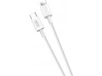 Cablu Date si Incarcare USB Type-C la USB Type-C XO Design NB124, 40W, 1 m, Alb, Blister