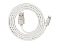 Cablu Date si Incarcare USB la Lightning Remax Ziree RC-127i, 2.4A, 1 m, Alb, Blister