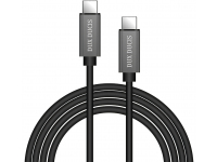 Cablu Date si Incarcare USB Type-C la USB Type-C DUX DUCIS KIII Wire 3A, 5V, 1 m, Negru, Blister