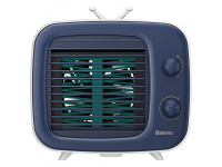 Mini Ventilator extern Baseus Time Desktop, Alb Albastru, Blister CXTM-23