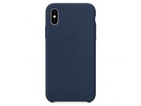 Husa TPU OEM Pure Silicone pentru Apple iPhone 11, Bleumarin, Blister
