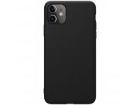 Husa TPU Nillkin Pure Silicone pentru Apple iPhone 11, Neagra, Blister