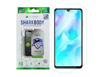Folie Protectie Fata si Spate OEM pentru Huawei P30 lite, Plastic, Full Cover, Full Glue, Shark antibacterial, Blister