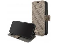 Husa Plastic - TPU Guess 4G Book pentru Apple iPhone 11 Pro Max, Maro, Blister GUFLBKSN654GB