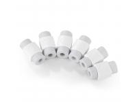 Set 6x Suport protectie cablu Lightning date / incarcarcare UGREEN, Alb, Bulk