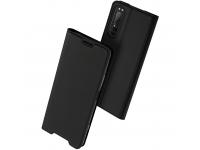 Husa Piele DUX DUCIS SKIN PRO pentru Sony Xperia 1 II, Neagra, Blister