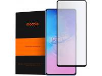 Folie Protectie Ecran Mocolo pentru Samsung Galaxy S10 Lite G770, Sticla securizata, Full Face, Full Glue, 9H, 2.5D, Neagra, Blister