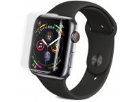 Folie Protectie Ecran OEM Apple Watch Series 1 38mm / Apple Watch series 2 38mm / Apple Watch Series 3 38 mm, Sticla securizata, Full Face, Full Glue, UV, Blister