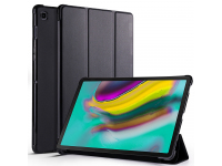 Husa Tableta Piele OEM Cowhide pentru Samsung Galaxy Tab S5e, Neagra, Bulk