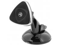 Suport Auto Universal Tellur de telefon pentru geam/bord, Negru, Blister TLL171041