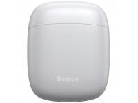 Handsfree Casti Bluetooth Baseus W04 TWS, SinglePoint, Alb, Blister
