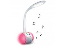 Lampa LED cu boxa Bluetooth Forever BS-760, RGB, Alba, Blister