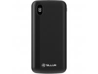 Baterie Externa Powerbank Tellur PD100, 2xQC3.0 + PD 18W 10000 mA, 2 x USB, Neagra, Blister TLL158231