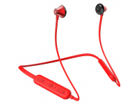 Handsfree Casti Bluetooth Hoco MaxRun BE23 Sports, In-Ear, Rosu, Blister